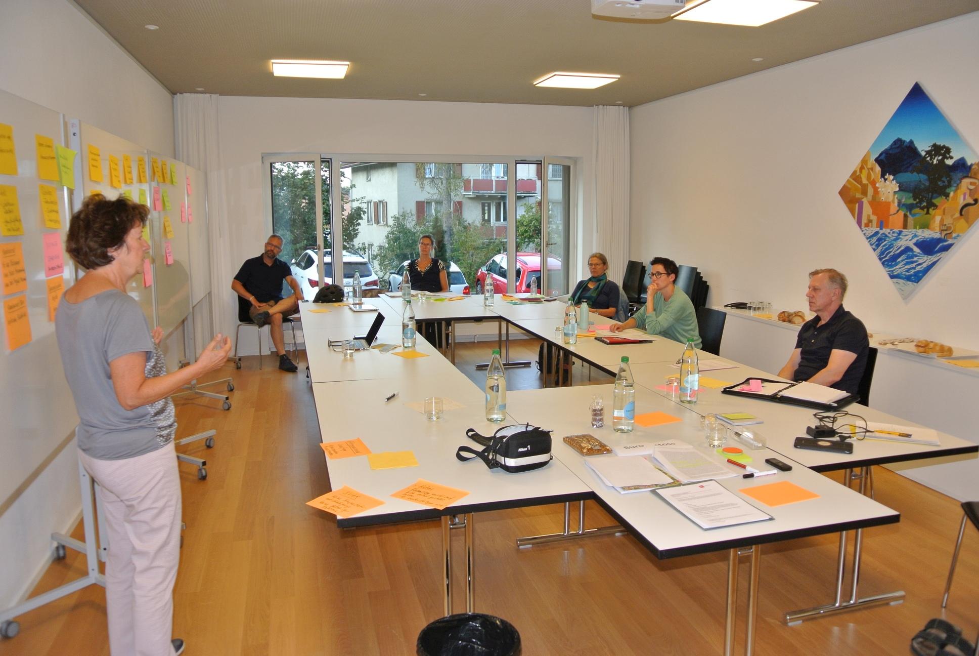 Foto Fraktionssitzung September 2020